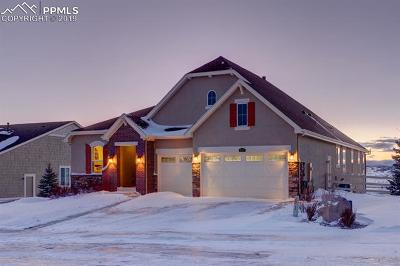 Castle Rock Single Family Home For Sale: 3655 Eveningglow Way
