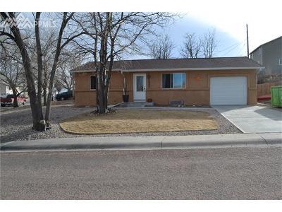Colorado Springs Single Family Home For Sale: 1302 Hartford Street