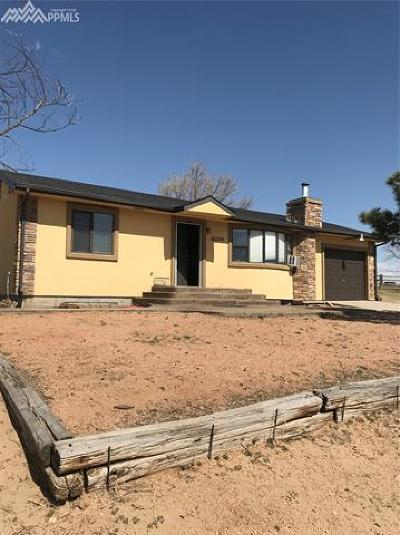 El Paso County Single Family Home For Sale: 16570 Stage Stop Road
