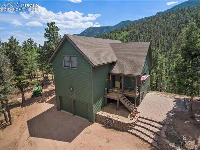 Manitou Springs Single Family Home For Sale: 6215 O Be Joyful Point