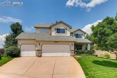 Colorado Springs Single Family Home For Sale: 2850 Bethune Court