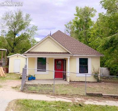 Single Family Home For Sale: 839 E Costilla Street #A & B