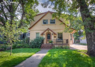 Colorado Springs Single Family Home For Sale: 823 Custer Avenue