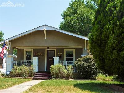 Colorado Springs Single Family Home For Sale: 1215 N Institute Street