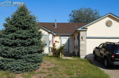 Fountain Single Family Home For Sale: 845 N Candlestar Loop