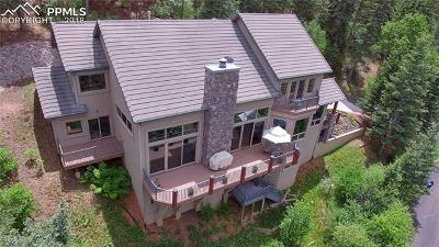 Manitou Springs Single Family Home For Sale: 1035 Laguna Point