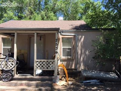 Colorado Springs Single Family Home For Sale: 2534 E St Vrain Street
