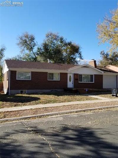 Colorado Springs Single Family Home For Sale: 2114 Meyers Avenue