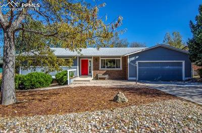Colorado Springs Single Family Home For Sale: 2453 Virgo Drive