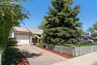 Colorado Springs Single Family Home For Sale: 608 S El Paso Street