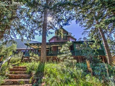 Green Mountain Falls Single Family Home Under Contract - Showing: 6920 Colorado Street