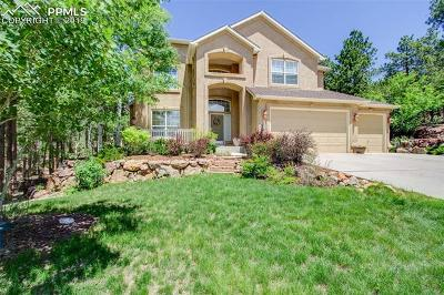 Colorado Springs Single Family Home For Sale: 15791 Wildwood Court