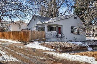 Colorado Springs Single Family Home Under Contract - Showing: 1611 E Kiowa Street