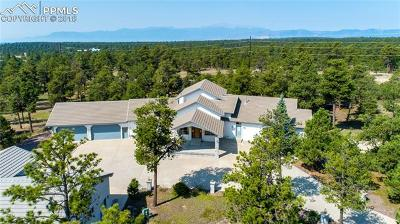 El Paso County Single Family Home For Sale: 11615 Vollmer Road
