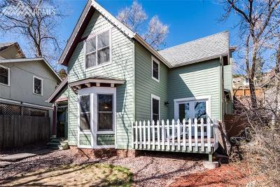 Manitou Springs Single Family Home For Sale: 1121 Manitou Avenue