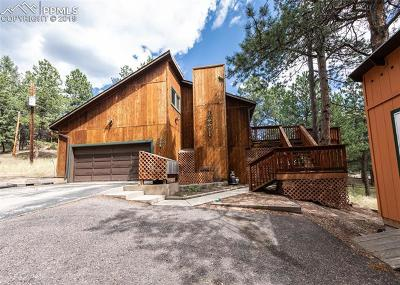 Woodland Park Single Family Home For Sale: 200 E Lovell Gulch Road