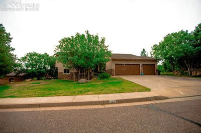 Colorado Springs Single Family Home For Sale: 135 Beckwith Drive