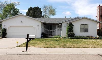 Pueblo West Single Family Home For Sale: 11 Sedum Court