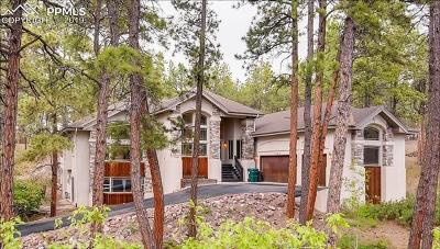 Colorado Springs Single Family Home For Sale: 1080 Longspur Lane
