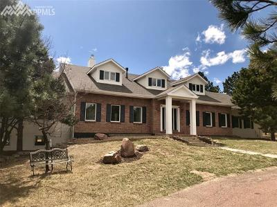 Monument Single Family Home For Sale: 862 Long Timber Lane