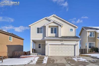Colorado Springs Single Family Home For Sale: 5083 Laredo Ridge Drive