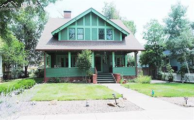 Colorado Springs Single Family Home For Sale: 1709 N Nevada Avenue