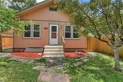 Colorado Springs Single Family Home For Sale: 2021 N El Paso Street