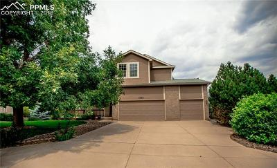 Colorado Springs Single Family Home For Sale: 3530 Masters Drive