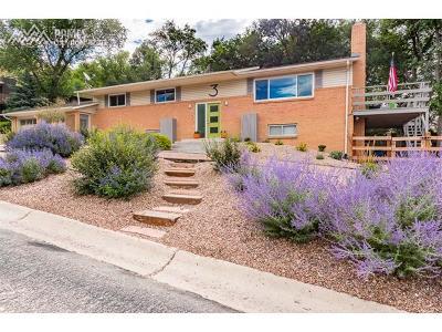 Colorado Springs Single Family Home For Sale: 3 Austin Lane
