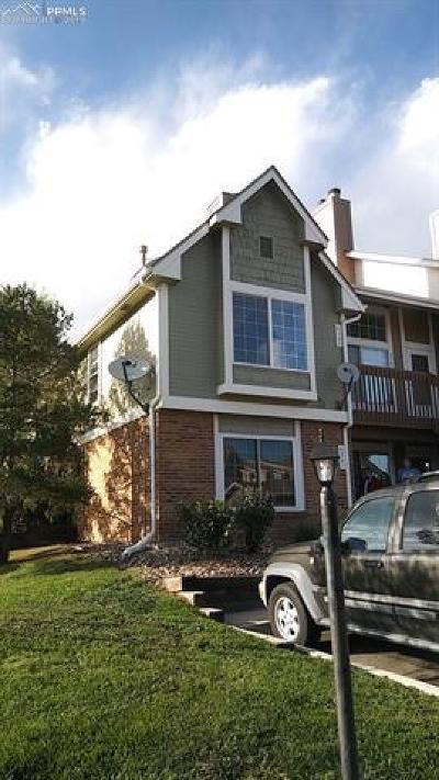 Colorado Springs CO Condo/Townhouse For Sale: $134,900