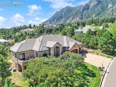 Colorado Springs Single Family Home For Sale: 4668 Stone Manor Heights