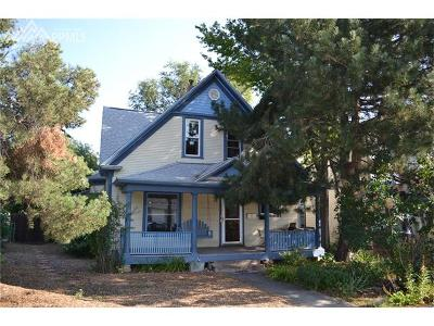 Colorado Springs Single Family Home For Sale: 452 W Yampa Street