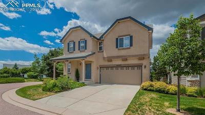 Colorado Springs Single Family Home For Sale: 11437 White Lotus Lane
