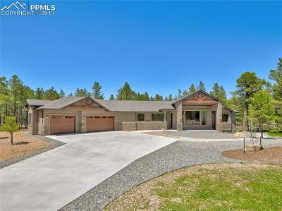 Colorado Springs Single Family Home For Sale: 11730 Bison Meadows Court