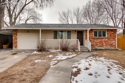 Colorado Springs Single Family Home For Sale: 153 Harvard Street