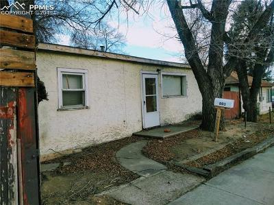 Colorado Springs Commercial For Sale: 803 N Union Boulevard