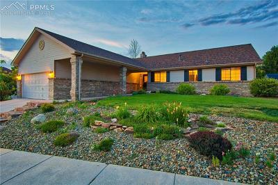 Colorado Springs CO Single Family Home For Sale: $405,000