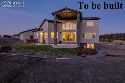 Douglas County, El Paso County, Park County, Teller County Single Family Home For Sale: 18310 Good Life View