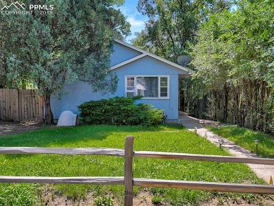 Colorado Springs Single Family Home For Sale: 909 E Costilla Street