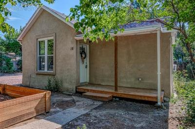 Colorado Springs Single Family Home For Sale: 15 N Chestnut Street