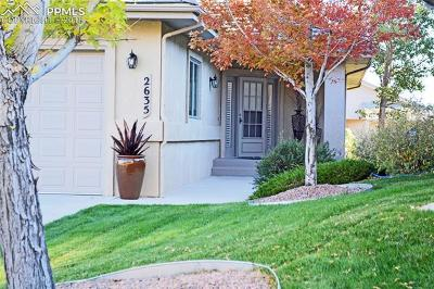 Colorado Springs Condo/Townhouse For Sale: 2635 Twin Harbor Heights