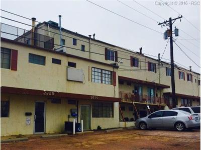 Colorado Springs Multi Family Home For Sale: 2241 E Platte Place