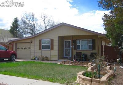Colorado Springs Single Family Home For Sale: 1112 Quivira Drive