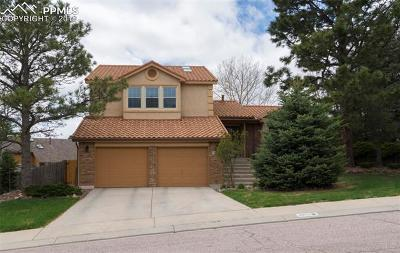 Colorado Springs Single Family Home For Sale: 3875 Teakwood Place