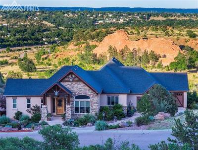 Manitou Springs Single Family Home For Sale: 241 Crystal Valley Road