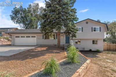 Colorado Springs Single Family Home For Sale: 5015 Sapphire Drive