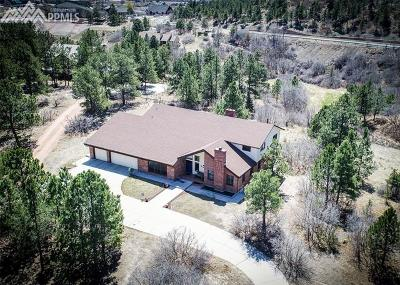 Colorado Springs Single Family Home For Sale: 65 Woodmen Court