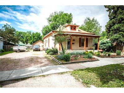 Colorado Springs Multi Family Home For Sale: 2225 W Bijou Street