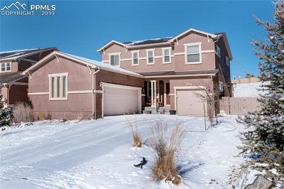 Colorado Springs Single Family Home For Sale: 5178 Monarch Crest Way