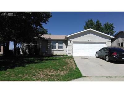 Fountain Single Family Home For Sale: 6720 Fountain Ridge Circle